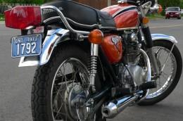 1973 Honda Ontario license licence YOM plates
