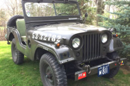 1953 Ford M38 Jeep