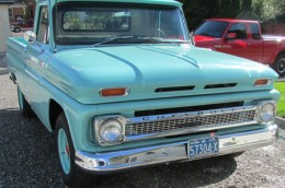 1965 Chevrolet Pickup Ontario license licence YOM plates