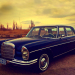 1967 Mercedes Benz Ontario license licence YOM plates