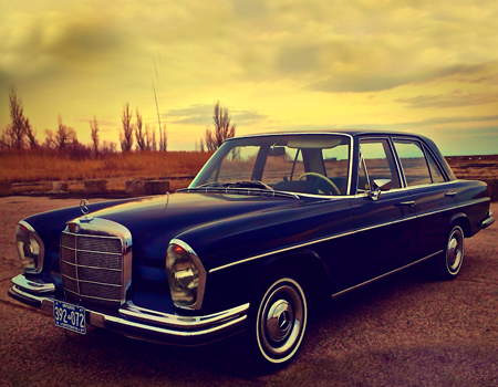 1967 Mercedes Benz Ontario license licence YOM plates