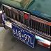 1971 MGB Ontario license licence YOM plates