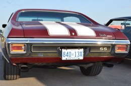1970 Chevelle Ontario license licence YOM plates