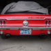 1967 Mustang Ontario YOM License Plates