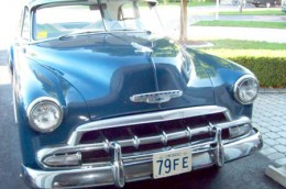 1952 Chevrolet Ontario license licence YOM plates