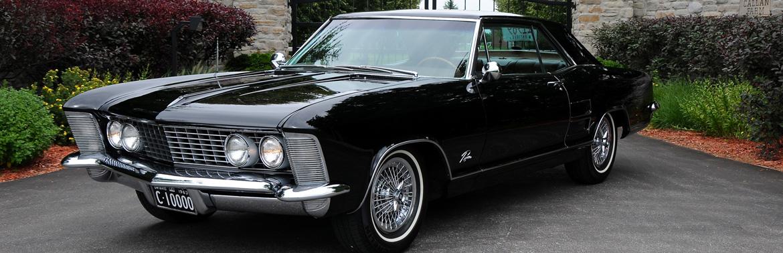 1963 Buick Riviera Ontario license licence YOM plates