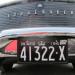 1961 Studebaker Ontario license licence YOM plates