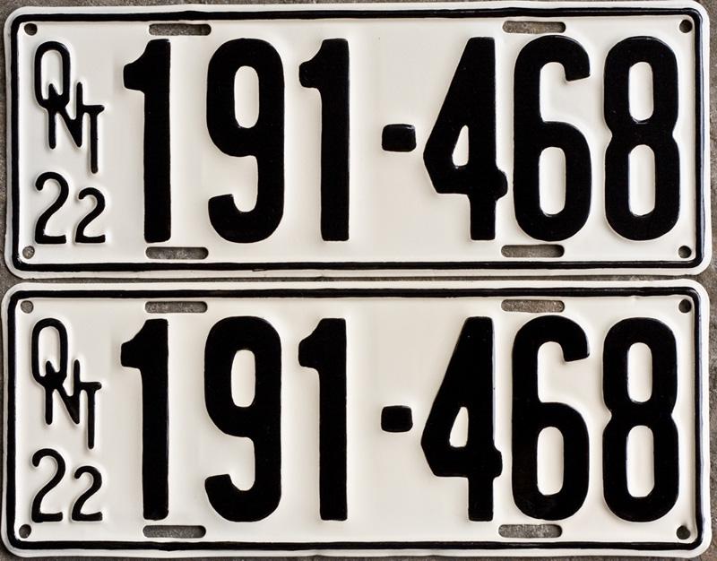 Ontplates.com - Ontario YOM License Plates