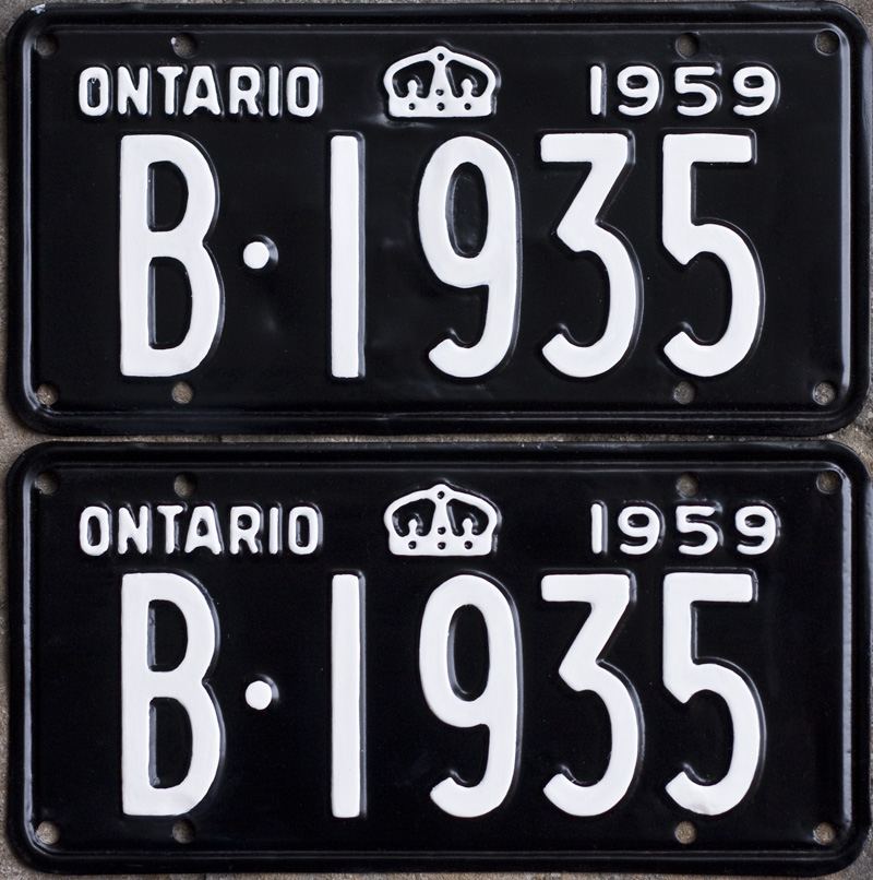vehicle licence plate renewal application form ontario