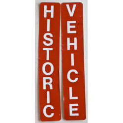 Ontario Historic Vehicle Stickers 1969 - 1972