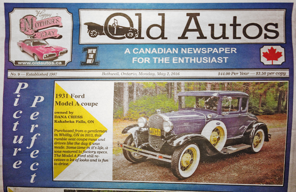 old autos ford model A 1931