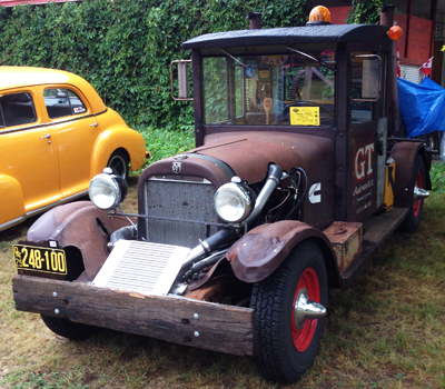 1925 rat rod tow truck