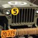 1942 Jeep Ontario YOM licence plates
