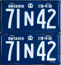 FAQ - Ontplates com - Ontario YOM (Year of Manufacture